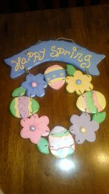 Happy Spring Wreath in Houston, Texas