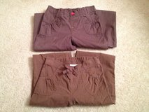 Girl's 6/6X Brown Pants - 2 Pairs in Plainfield, Illinois