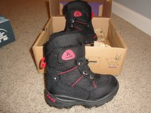 Kamik toddler winter boots Black in Joliet, Illinois