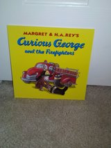 Curious George and the Firefighters book in Camp Lejeune, North Carolina