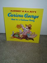 Curious George Goes to a Costume Party book in Camp Lejeune, North Carolina