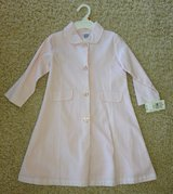 Girls Pink Spring Coat-Size 3 in Lockport, Illinois