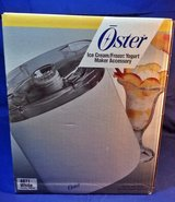 NIB Oster Ice Cream / Yogurt Maker Accessory For 5000 Series Kitchen Center Mixer (T=18) in Fort Campbell, Kentucky