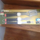 New 3 Piece Light Up Grilling Tool Set in Oswego, Illinois