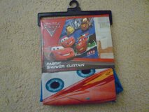 Disney Cars 2 shower curtain in Travis AFB, California