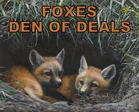 ***** FOXES - DEN OF DEALS ***** (NEW & USED) in Fort Lewis, Washington