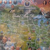 New United States Presidents Puzzle in Naperville, Illinois