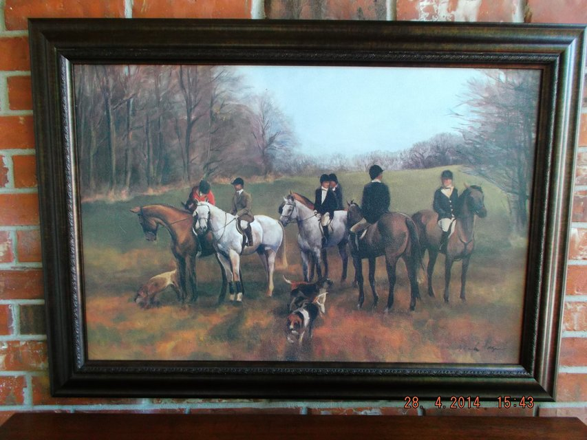 English Riding Scene Furniture Home By Owner For Sale On Kingwood Bookoo